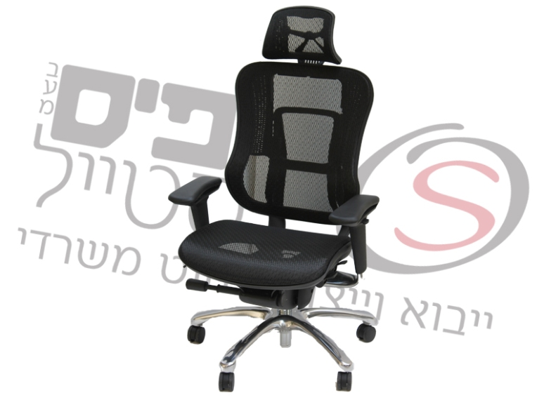 כסא בצבע שחור למשרד